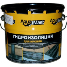 Мастика битумная - резиновая, (3кг) AquaMast (АкваМаст)