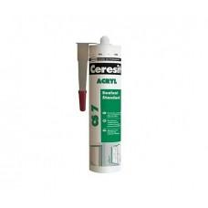 Акриловый герметик, 280мл CERESIT CS-7 (Церезит CS-7)