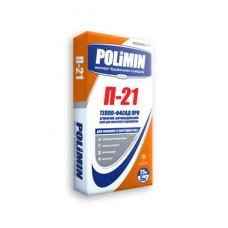 Клей армирующий тепло-фасад про, 25 кг Полимин П-21 (Polimin P-21)