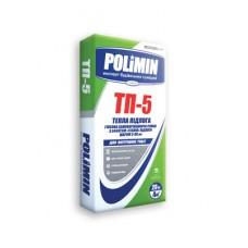 Гипсовая самовыравнивающаяся смесь (3-80 mm) Теплый пол, 20 кг Полимин ТП-5 (Polimin TP-5)
