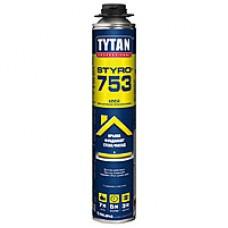 Пена-клей Титан профессиональная (Tytan О2 STYRO 753  GUN B3) 750 мл